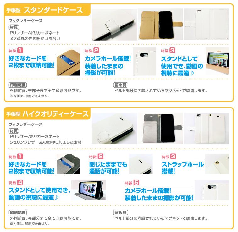 YOTSUBA印刷-オリジナルiPhoneiPhoneケース自作(手帳型)