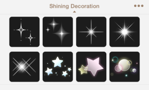 shining decoration