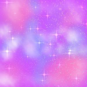 ゆめかわいい 宇宙柄の作り方