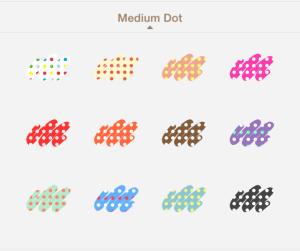 medium dot
