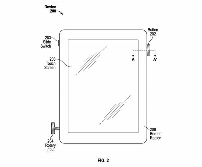 iPhone新特許画像_【iPhone7はジョグダイアル付きか?】アップルが『ダイアル付きiPhone特許』を出願か