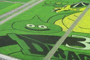 スライム_【画像あり】埼玉県行田市のドラクエの田んぼアートが想像を超えるクオリティで美しい