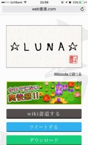 LUNA_書道好きのネットユーザーに朗報!?ウェブで書道が楽しめる『Web書道』