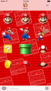 スーパーマリオラン_iOS10から使えるiMessage用おすすめスタンプアプリ5選