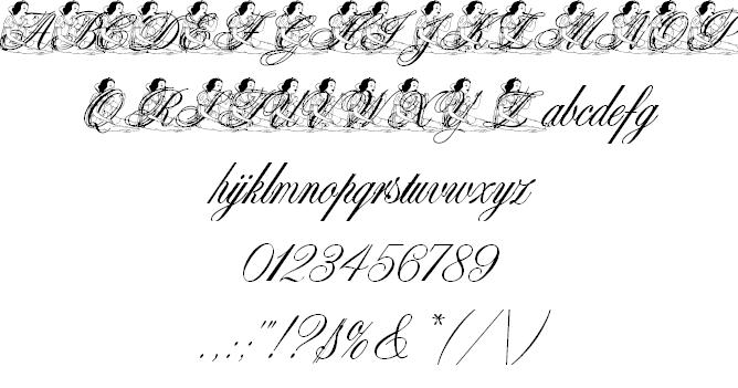 白雪姫_ディズニーキャラのイラストが詰まった厳選ディズニー文字フォント10選