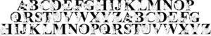 プーさん_ディズニーキャラのイラストが詰まった厳選ディズニー文字フォント10選