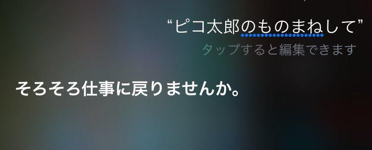 仕事に戻れ_Siriのペンパイナッポーアッポーペン(PPAP)に対しての反応まとめ