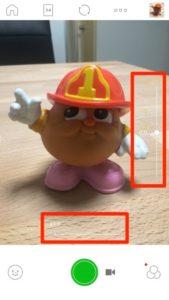明るさ&ズーム_【多機能カメラアプリ】LINE Cameraで使える6つの撮影補助機能