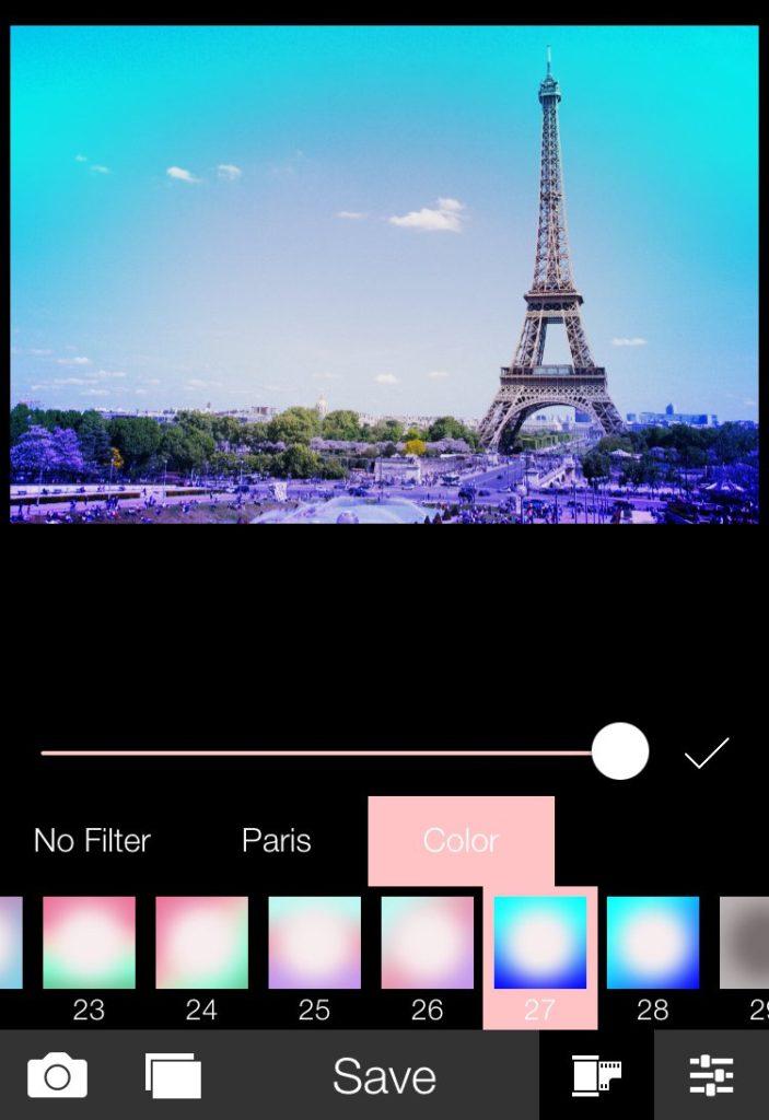 analogparis青系フィルター_ピンクっぽいフィルターをかけれるiPhone向け画像編集アプリ6選とその使い方